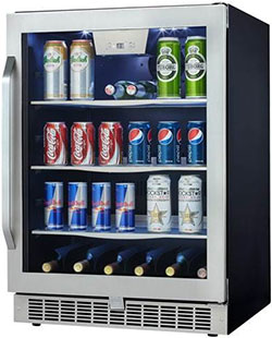 danby beverage fridge
