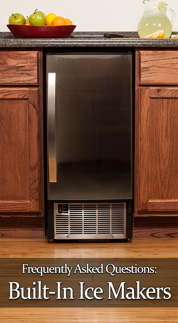 under cabinet ice maker 11 frequently asked questions about undercounter makers 27472