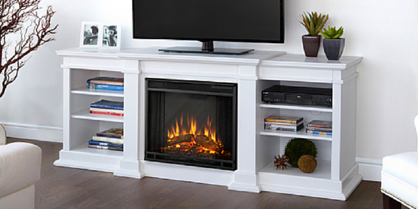 If you have always wanted a fireplace but cannot afford to install a wood burning one