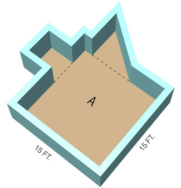 Odd Shaped Room - Section A