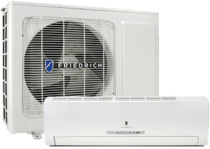 Friedrich Single Zone Mini Split with Heat Pump