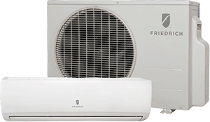 friedrich minisplit with heat pump