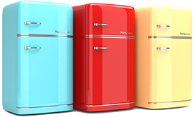 Colorful Fridges