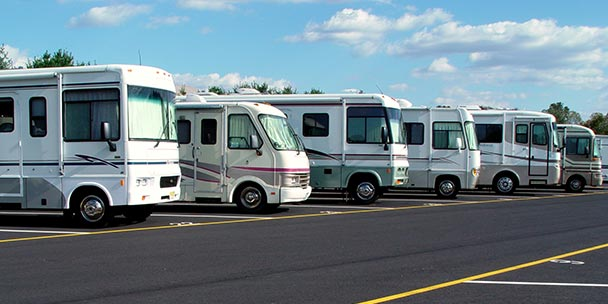 Types of Motorhomes & RV's