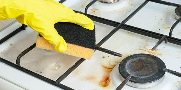 11 Easy Ways To Clean Your Stove Amp Cooktop