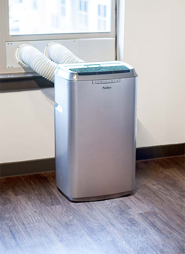 Dual-Hose Portable Air Conditioner
