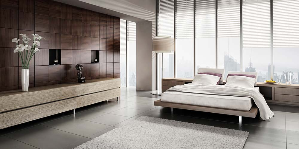 7 tips to creating a minimalist living room for Modern minimalist bed