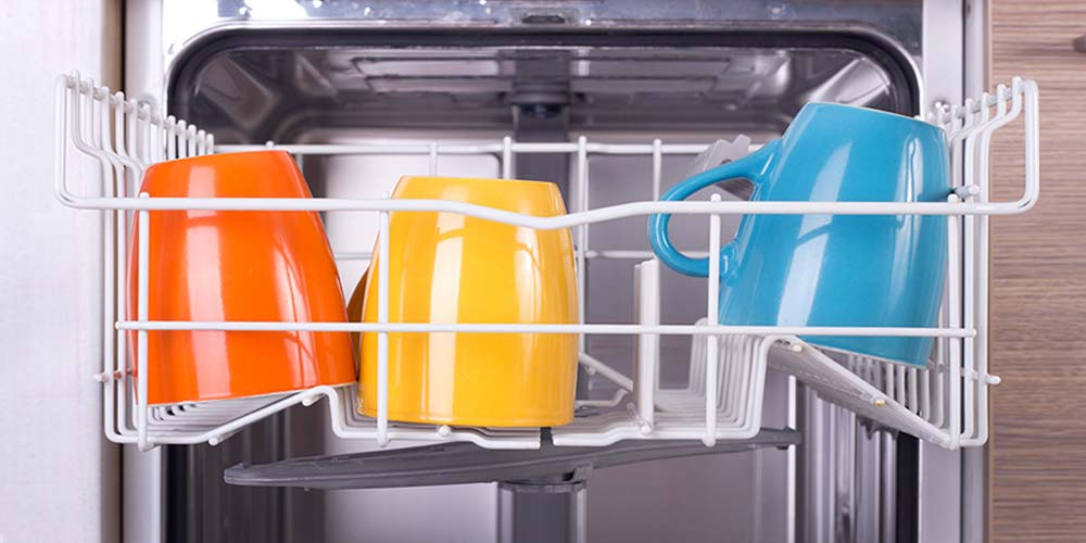 Mugs in Dishwasher