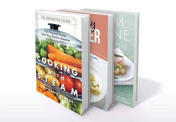 Steam Cookbooks on Amazon